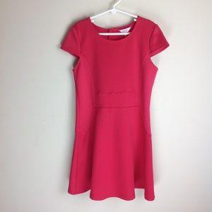 Ted Baker Hot Pink Dress Sz 9 / 10